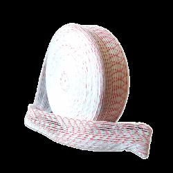 Формовочная сетка бело-красная 100 мм 10 м